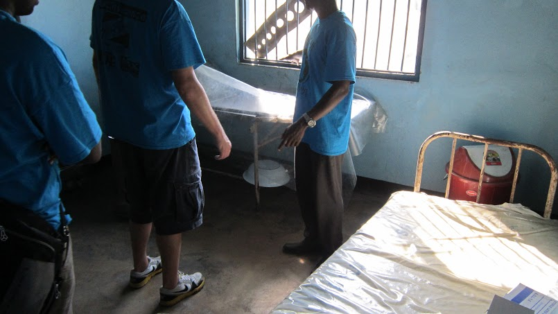 The two beds for 2,000 families in Chumbi