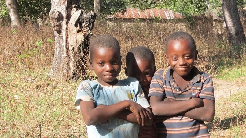 Three Boys from Chumbi A